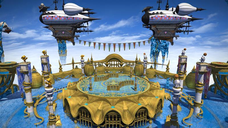 Final Fantasy XIV: Stormblood - Patch 4.2 - Crystal Tower (Foto: Square Enix)