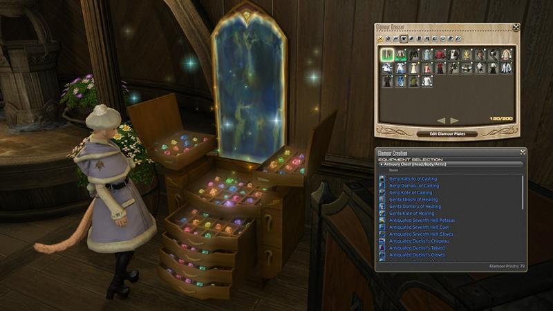 Final Fantasy XIV: Stormblood - Patch 4.2 - Glamour (Foto: Square Enix)