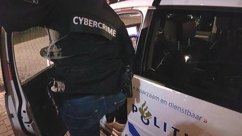 Hacker aangehouden na complex onderzoek (Foto: stockfoto politie.nl)