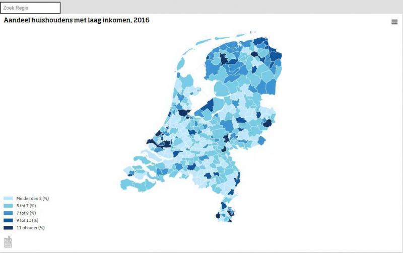 Langdurige armoede neemt toe (Foto: Centraal Bureau voor de Statistiek)