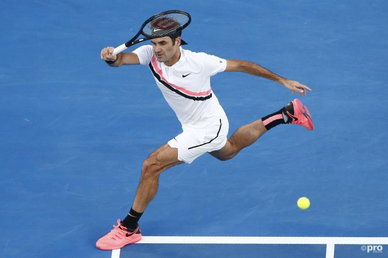 Federer simpel door (Pro Shots / Action Images)