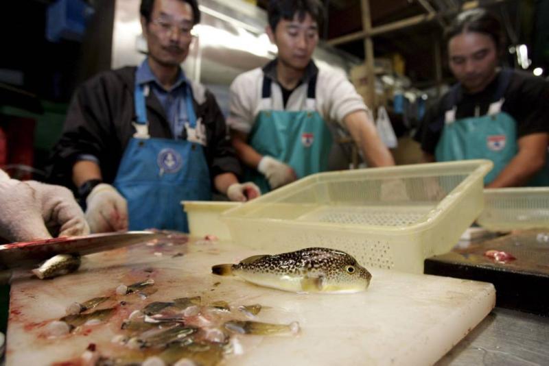 Giftige vis belandt in Japanse supermarkt
