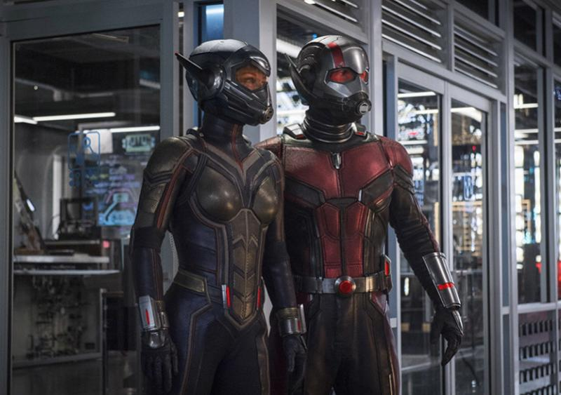 Ant-Man and the Was: Evangeline Lily en Paul Rudd (Foto: Marvel)