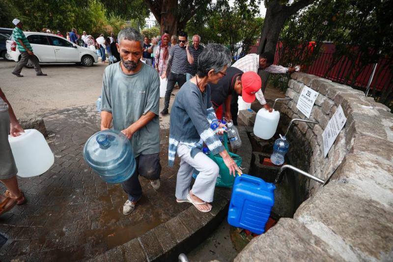 50 liter water per dag voor inwoners Kaapstad