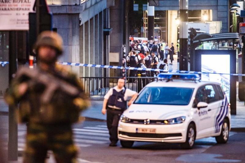 Aanval migranten op Belgische politie