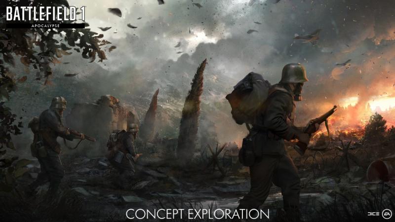 Battlefield 1: Apocalypse concept (Foto: Electronic Arts)