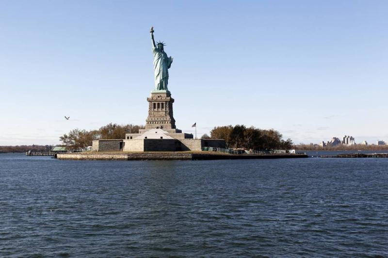 Ook 'shutdown' Vrijheidsbeeld