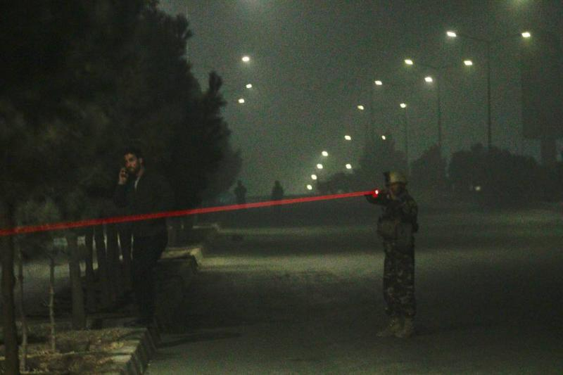 Aanval op hotel in Kabul