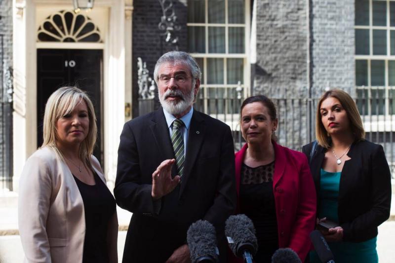 McDonald neemt leiderschap Sinn Fein over