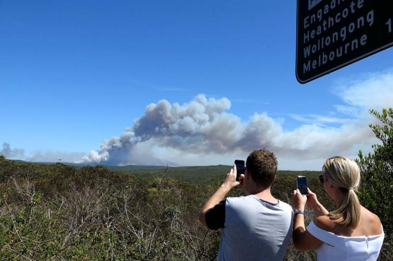 Evacuaties door bosbranden bij Sydney