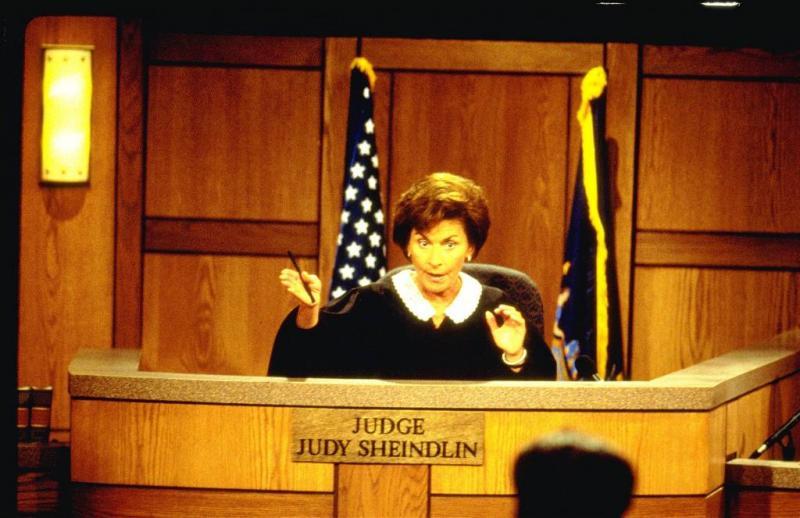 Judge Judy zelf voor rechter gesleept