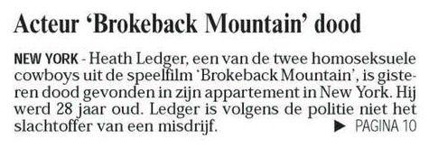 Uit de Leeuwarder Courant van 23 januari 2008