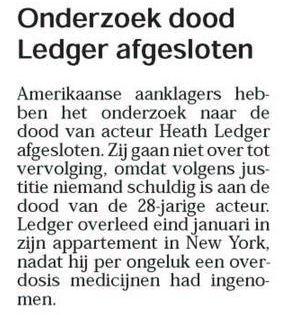 Uit de Leeuwarder Courant van 7 augustus 2008