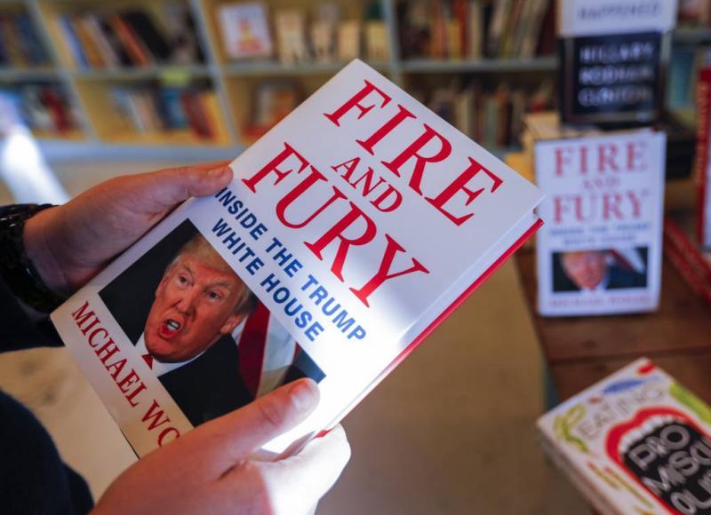 Trump-biograaf Michael Wolff in College Tour