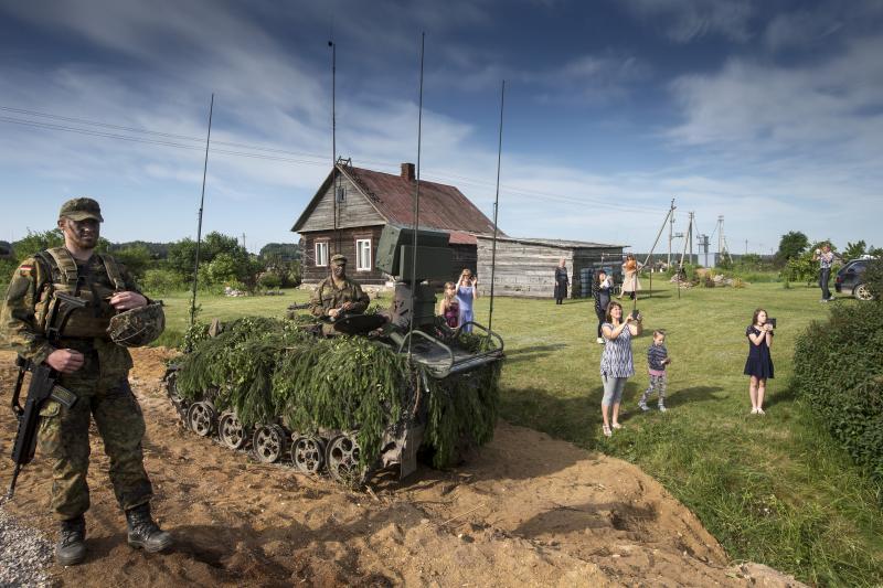 De genomineerde foto (Foto: Gerben van Es - Mediacentrum Defensie)