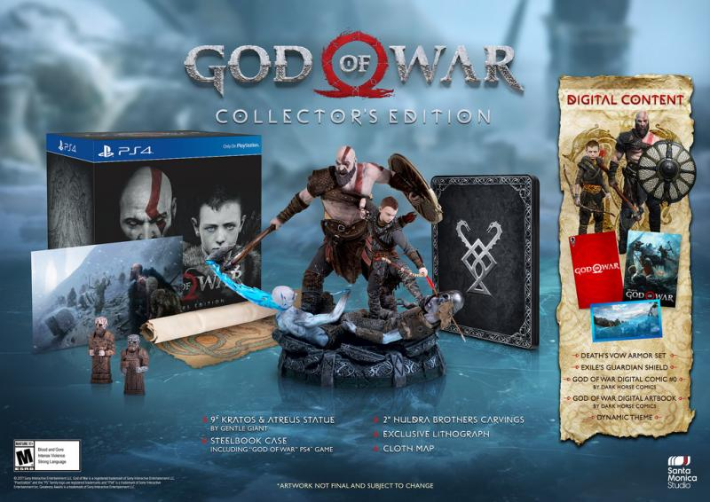 God of War Collector's Edition