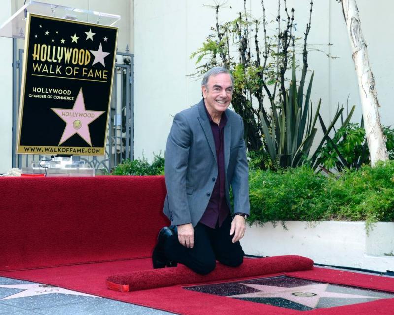 Neil Diamond dankbaar voor steun