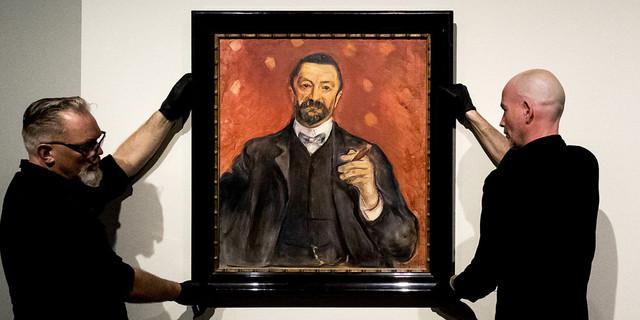 Felix Auerbach door Munch (Foto: ANP)