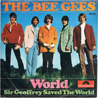 01 The Bee Gees - World