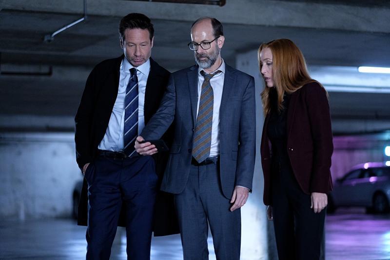 The X-Files: David Duchovny, Brian Husky en Gillan Anderson