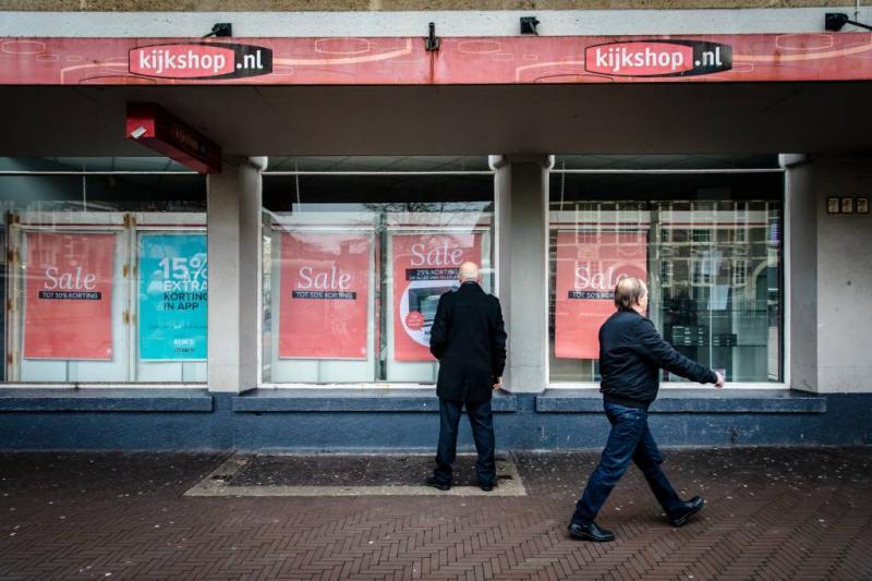 Meeste winkels Kijkshop open voor uitverkoop