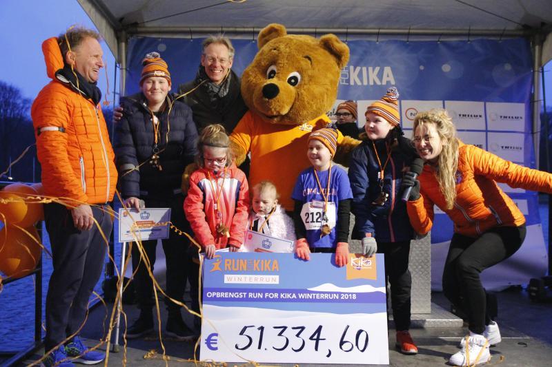 Winterrun voor KiKa succesvol (Foto: Martine Epskamp)