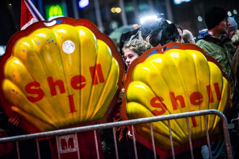 Oproep tot boycot Shell op sociale media