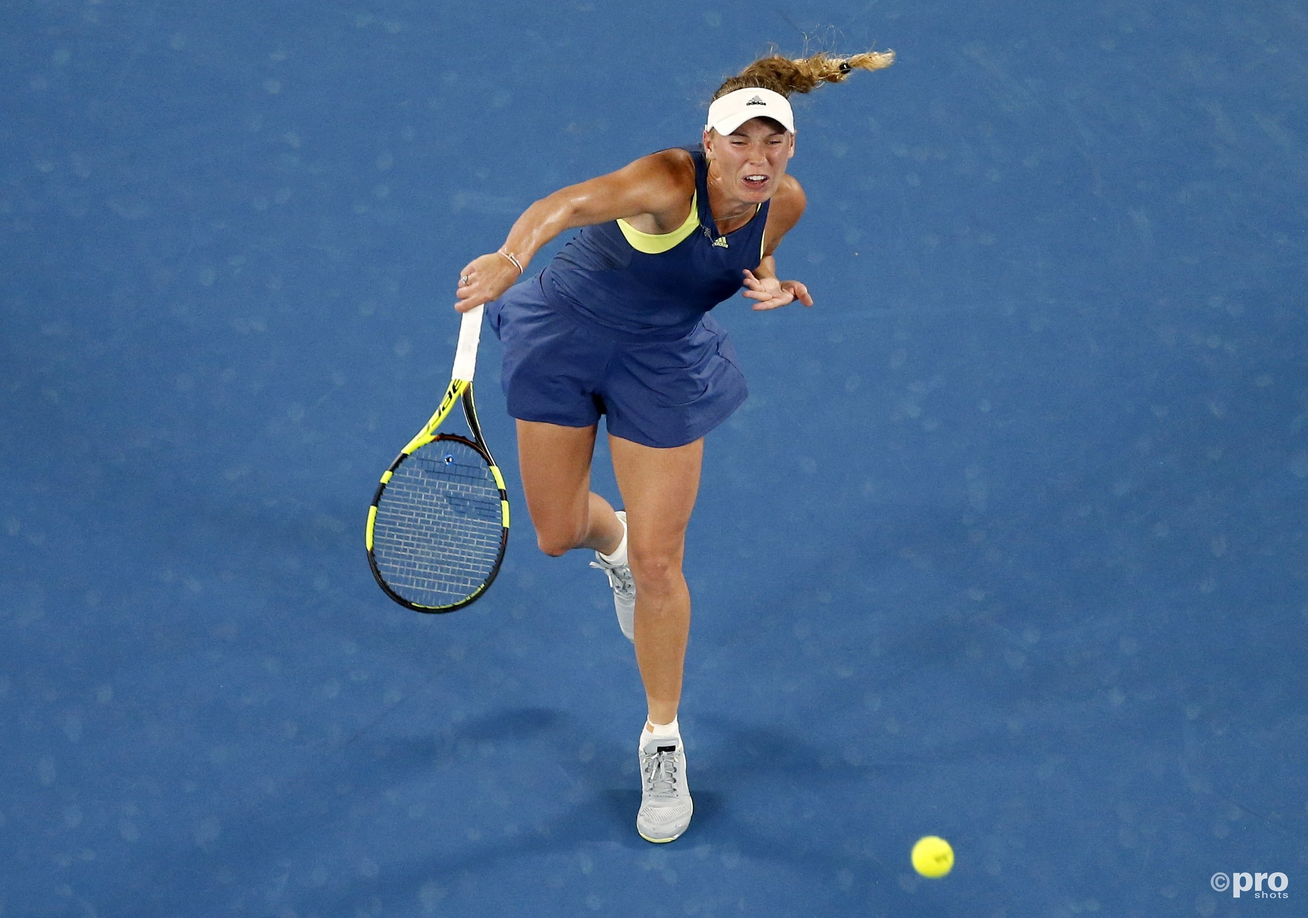 Wozniacki in de finale tegen Halep (Pro Shots/Action Images)