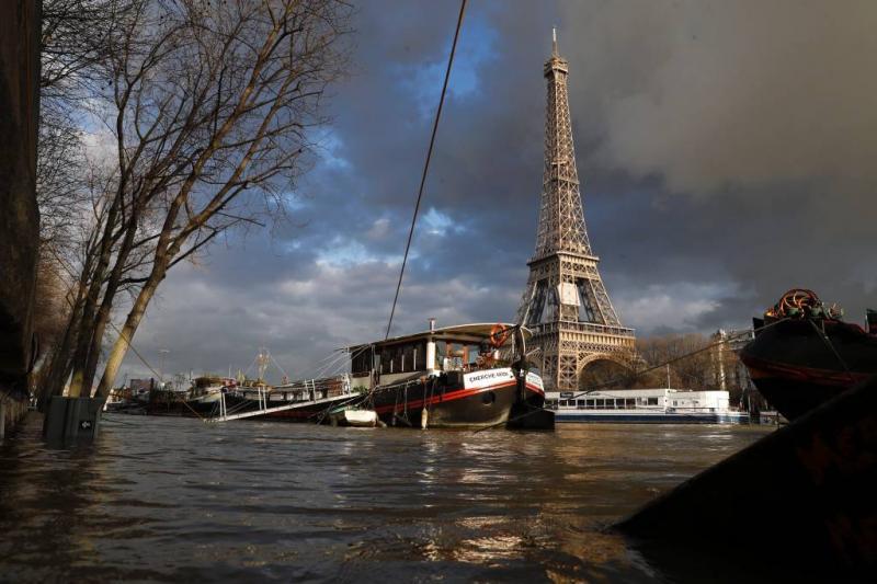 Hoogste waterstand Seine zondag verwacht