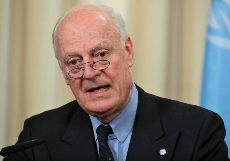 VN-gezant naar 'Russische' Syrië-conferentie