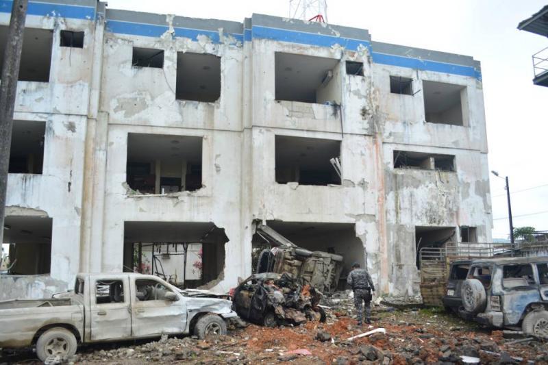Tientallen gewonden bij bomaanslag Ecuador