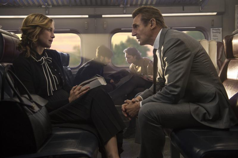 The Commuter: Vera Farmiga en Liam Neeson