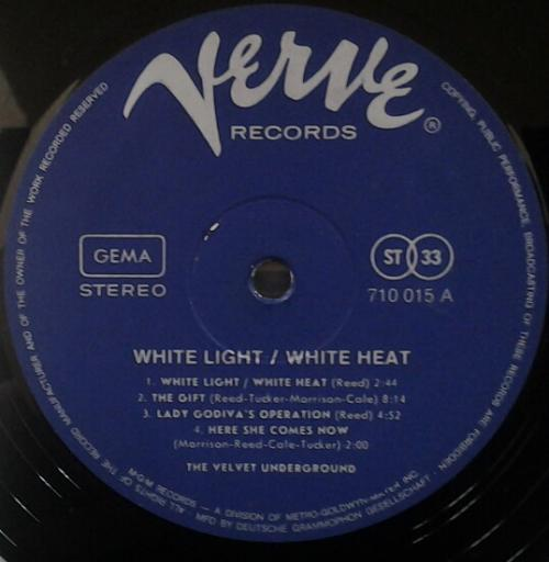 The Velvet Underground - White Light⁄White Heat A