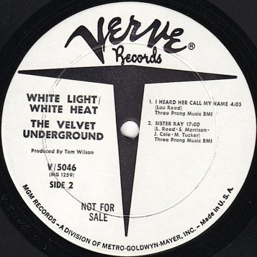The Velvet Underground - White Light⁄White Heat B