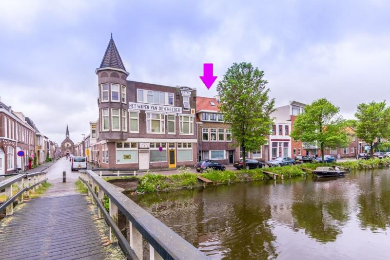 Je eigen arrestantencel in Den Helder (Foto: Funda)