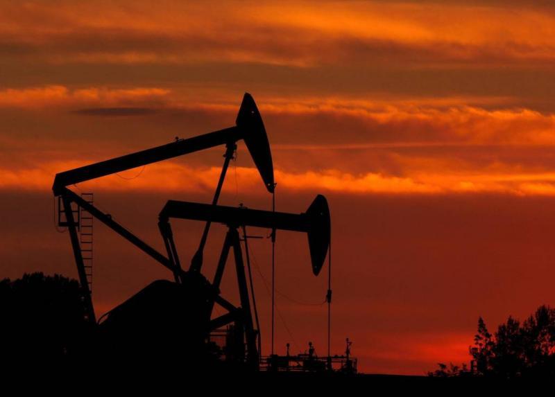 Olieproductie VS door het dak