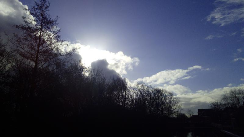 Fraaie lucht (Foto: DJMO )