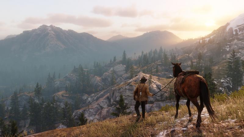 Red Dead Redemption 2 Uitzicht