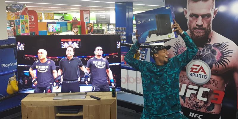 UFC 3 in de Mediamarkt