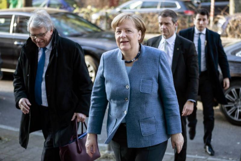 Merkel: nog harde coalitieonderhandelingen