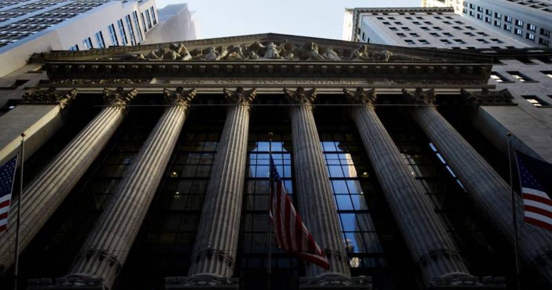 Dieprode koersborden op Wall Street