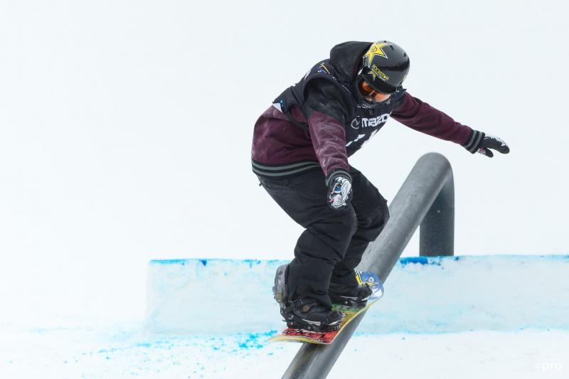 Cheryl Maas in actie op de slopestyle (Pro Shots / Zuma Sports Wire)