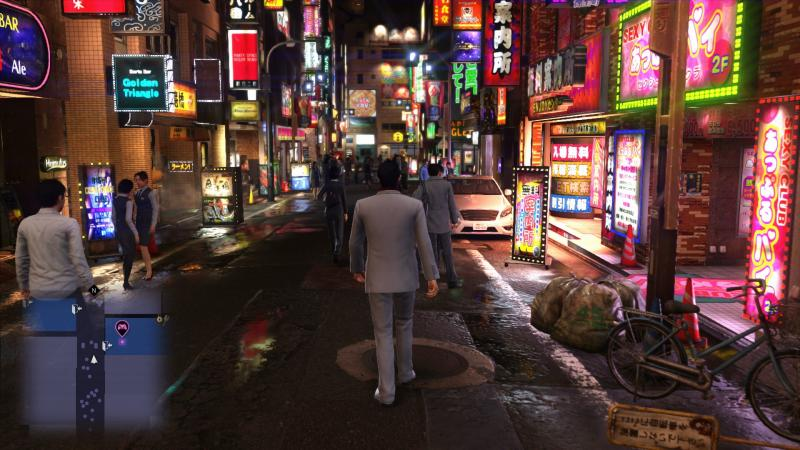 Yakuza 6: The Song of Life - Night on the Street (Foto: Sega)