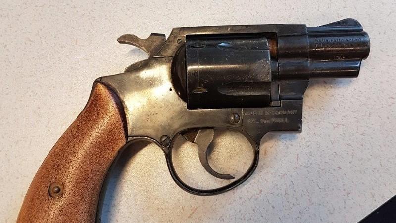 Een vuurwapen (Foto: Politie.nl)