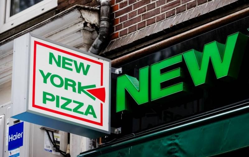 Geen New York Pizza op Ferdinand Bolstraat