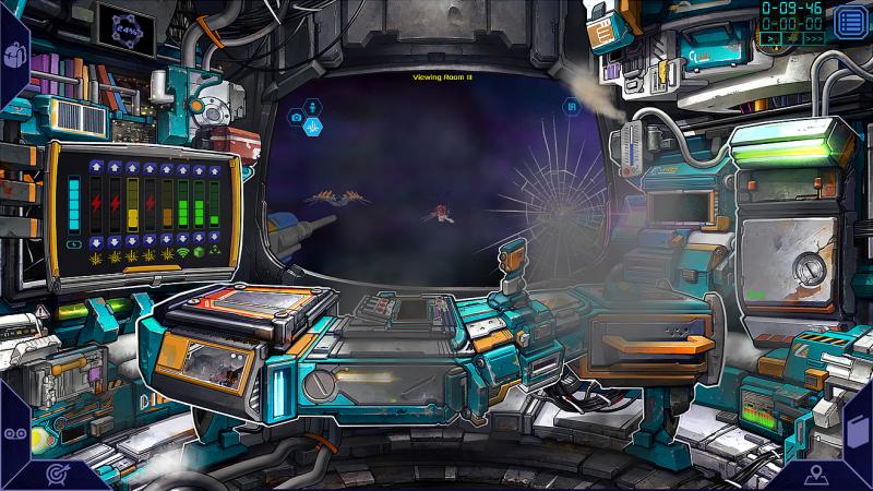 Deep Sixed - cockpit