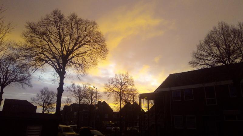 Fraaie lucht in Alkmaar  (Foto: DJMO )