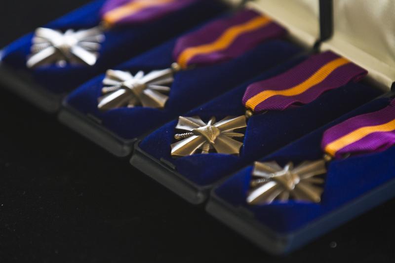 Het Mobilisatie-Oorlogskruis (Foto: Ministerie van Defensie)