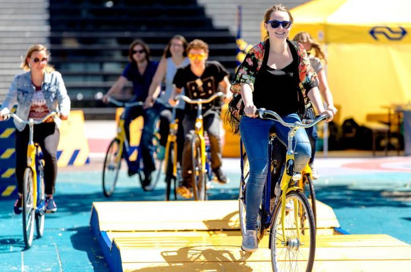 Nieuwe entree voor 44 fietsenstallingen
