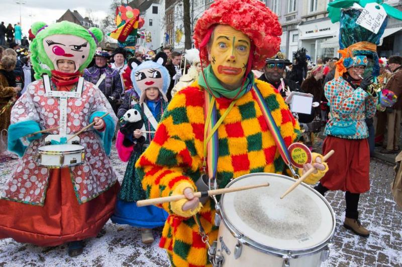 Carnavalsvierders onderkoeld in Etten-Leur